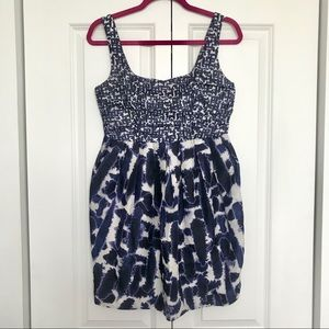 Urban Outfitters Navy Tulip Dress - 6